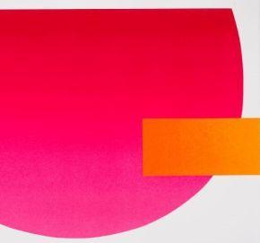 Detail aus: Rupprecht Geiger, Rot aktiv, 2007 (WVG 235)
