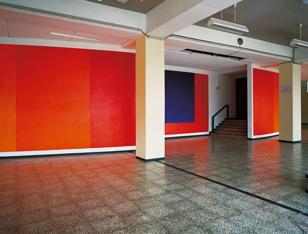 Dreiteilige Wandgestaltung an der Ruhr-Universität, Bochum