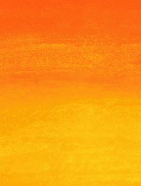 Detail aus: Rupprecht Geiger, Orange moduliert, 2003 (WV 922), Acryl/Lwd, 100 x 120 cm