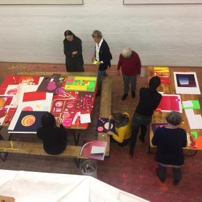 Archiv Geiger, Papier-Workshop mit Katrin Hering
