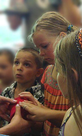 Rot Feiern – Kindergeburtstag im Archiv Geiger