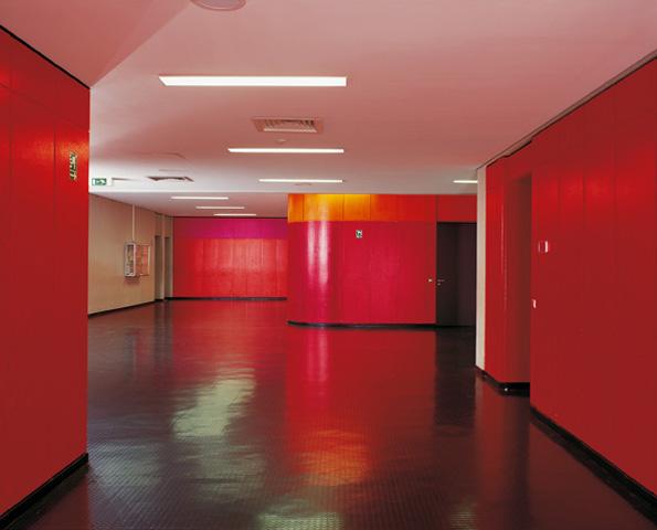 Farbgestaltung in der Joseph-von-Fraunhofer-Schule, München