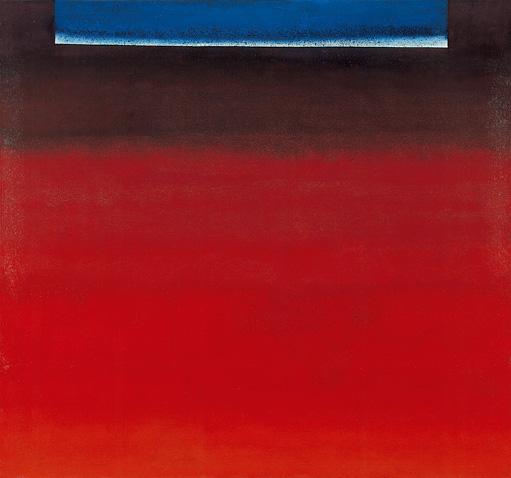 WV 235 OE 280 (Komposition in Rot mit Weiß und Blau), 1959